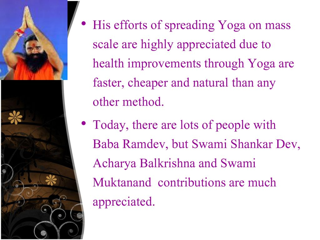 Biography Of Baba Ram Dev - ppt download