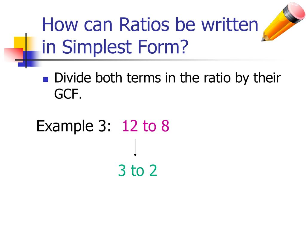 simplest form 3/12  Write each fraction in simplest form. - ppt download