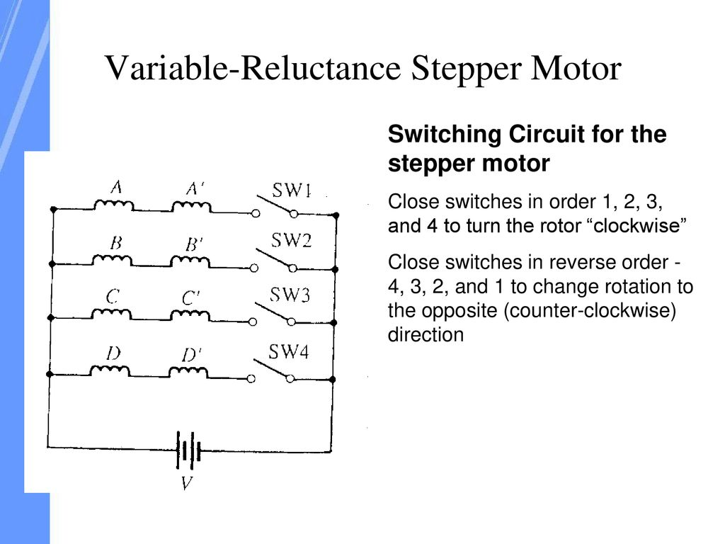 Single Phase Motors Are Very Widely Used In Home Offices Workshops Reversing A Motor4 See 1 2 3 200 Transistor Circuits 58 Variable Reluctance Stepper Motor