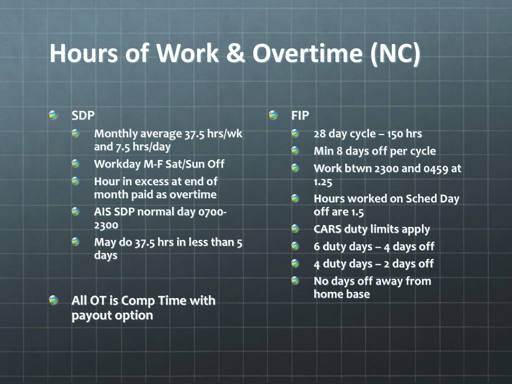 8 Days On 6 Days Off Work Schedule cfpa collective agreement overview - ppt download