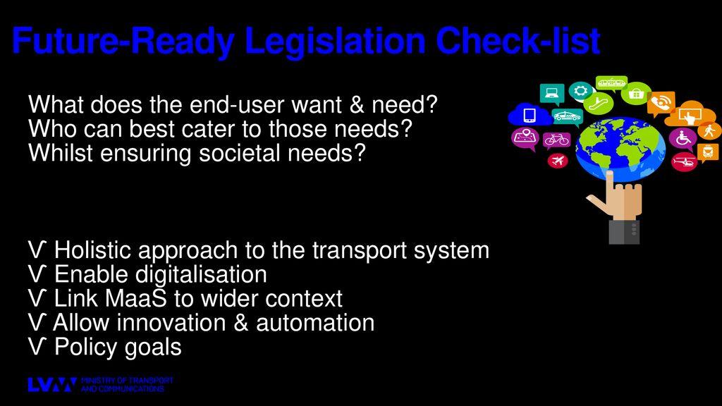 Keys to Digitalising the Transport Sector MaaS & Transport