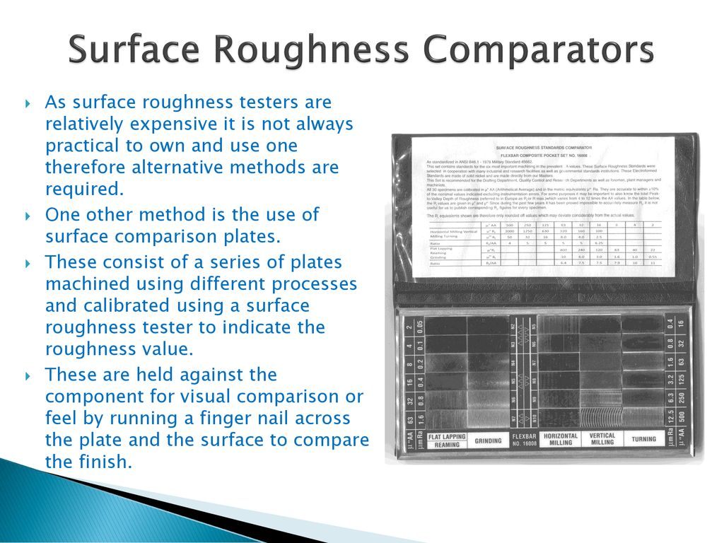 Surface Finish  - ppt download