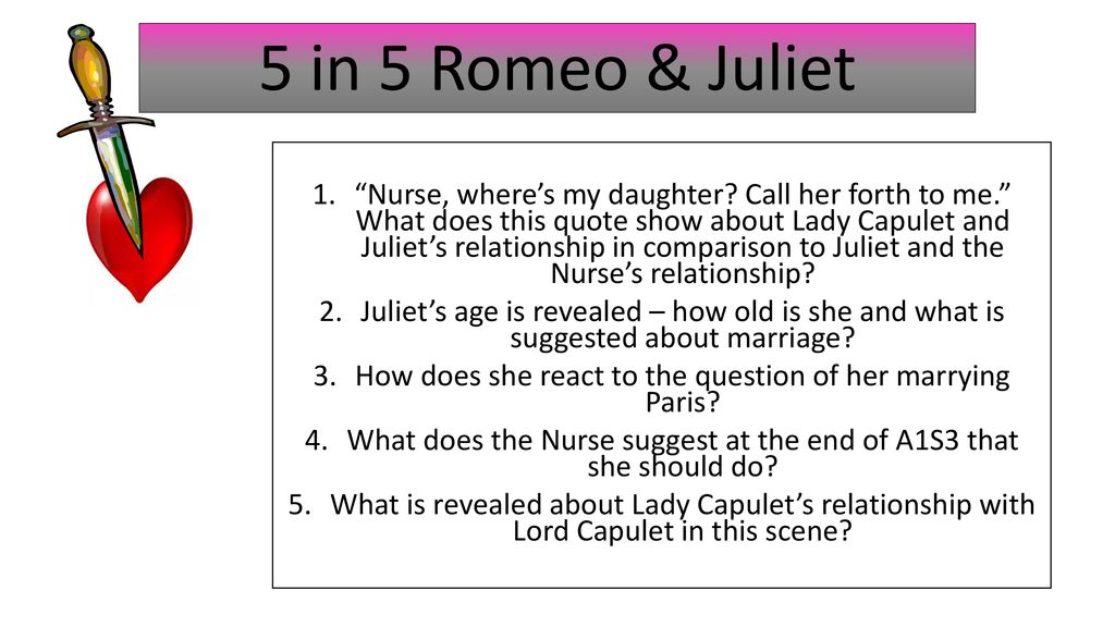 nurse and juliet relationship quotes