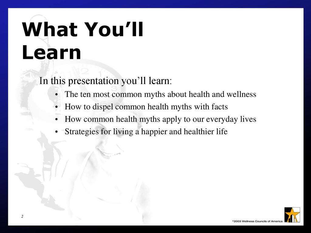 Ten Common Learning Myths That Might Be >> What You Don T Know Can Kill You Ppt Download