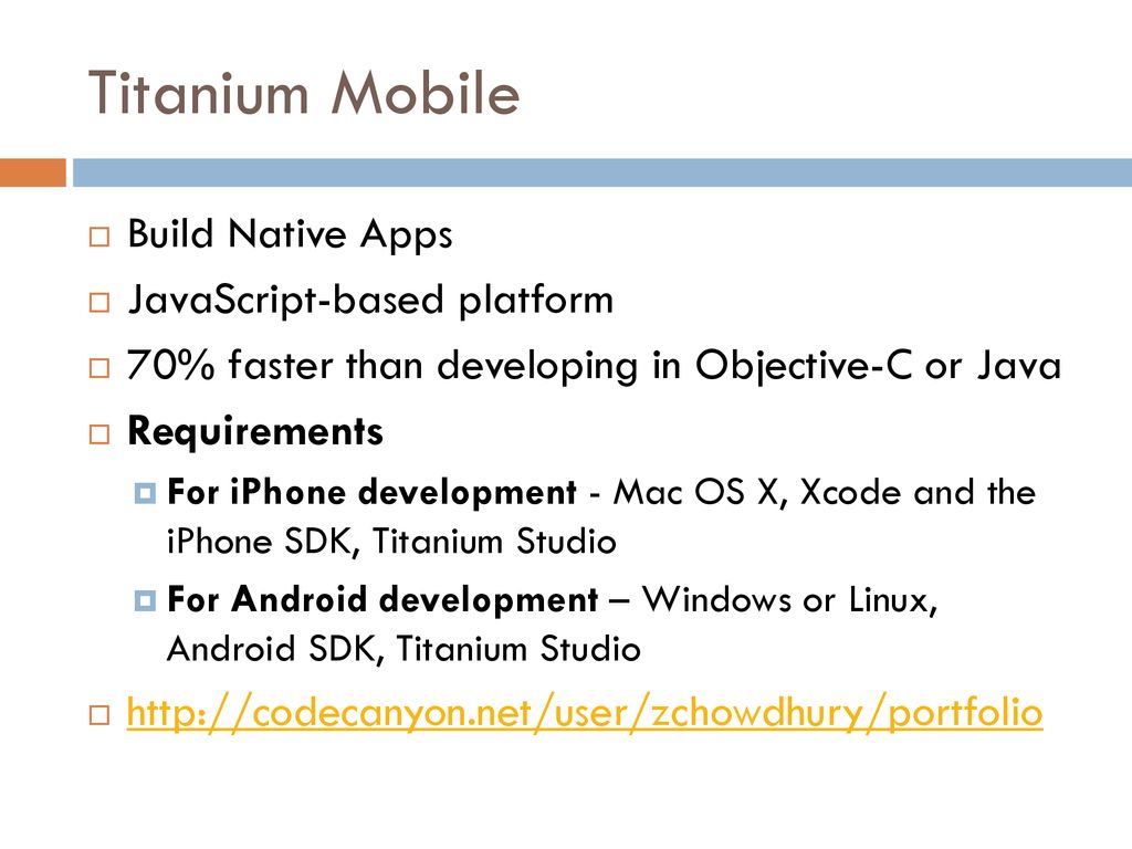 Mobile App Development - ppt download