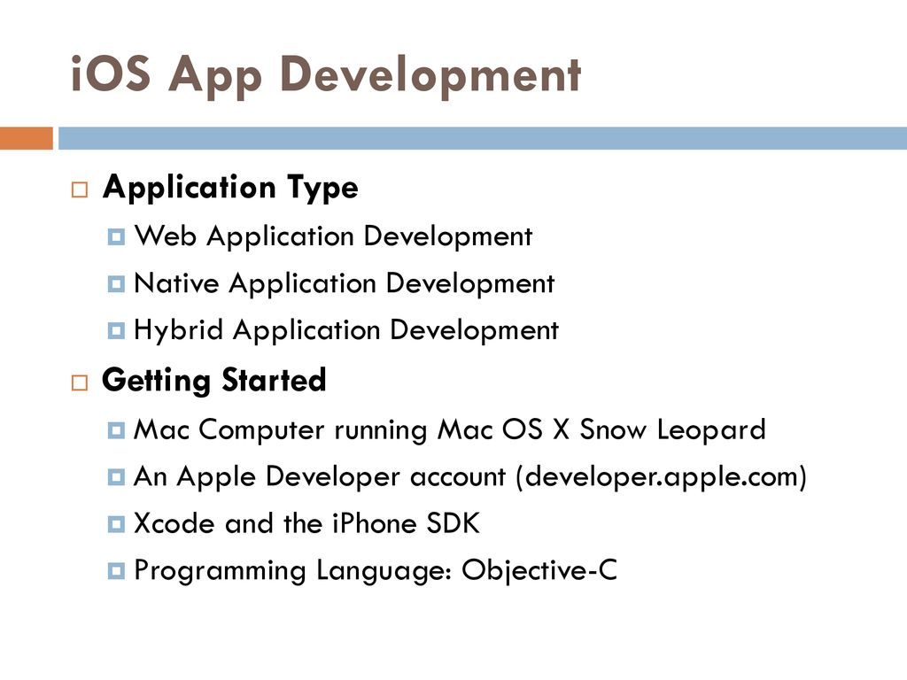 Mobile App Development - ppt download