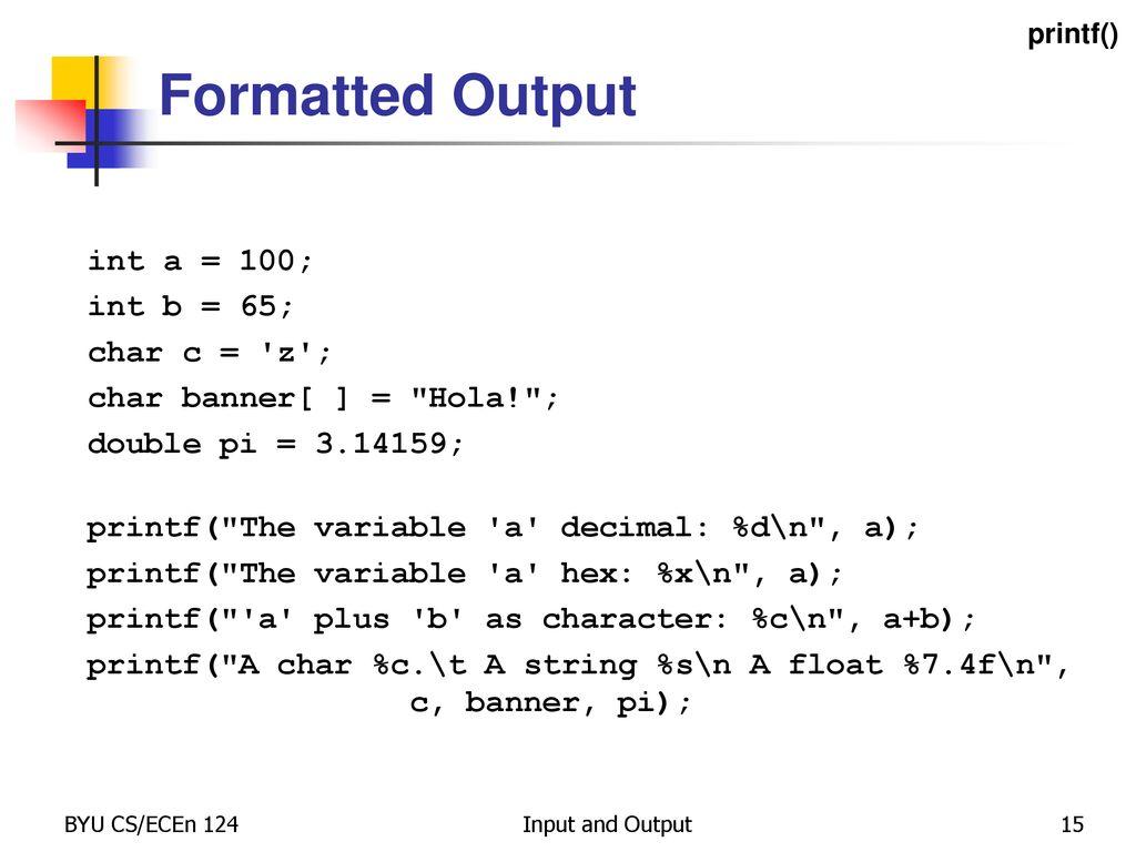C printf format codes binary options reechy csgo betting