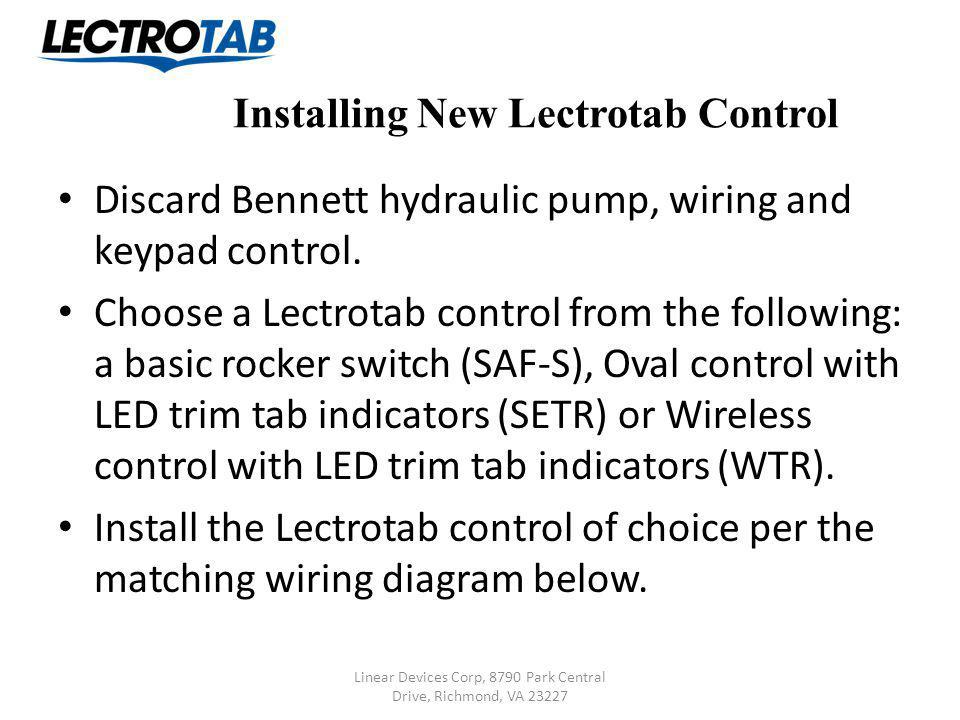 lectrotab retrofit instructions replacing bennett standard system rh slideplayer com