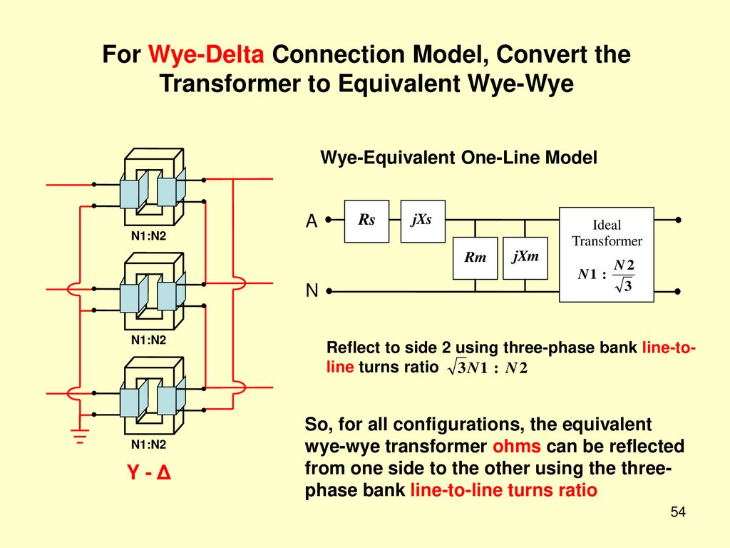 1 Power And Rms Values Ppt Download 240v Transformer Wiring Diagram On Wye Delta Starter For Connection Model Convert The To Equivalent