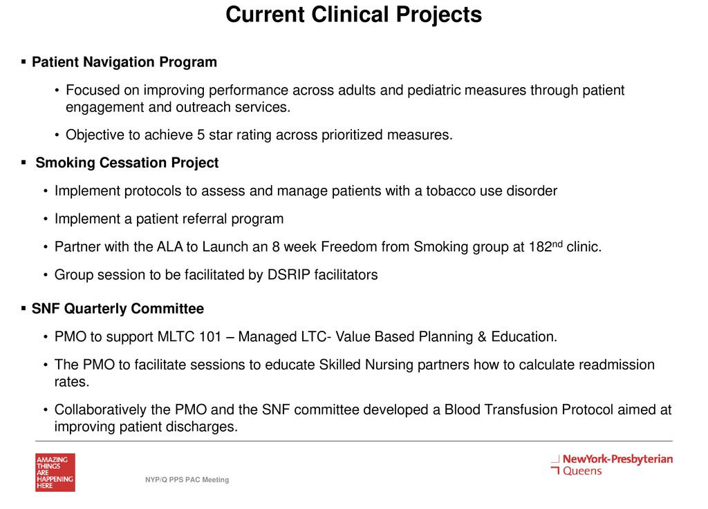 NYP Queens PPS PAC Meeting - ppt download