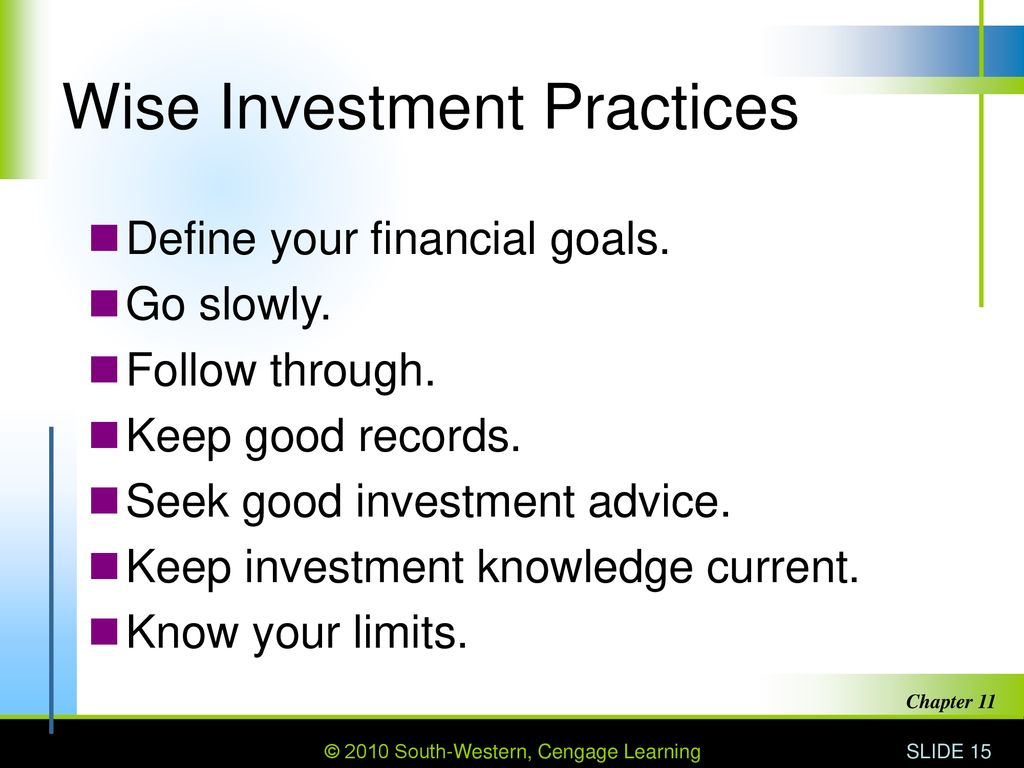 Wise investment practices time signal forex real