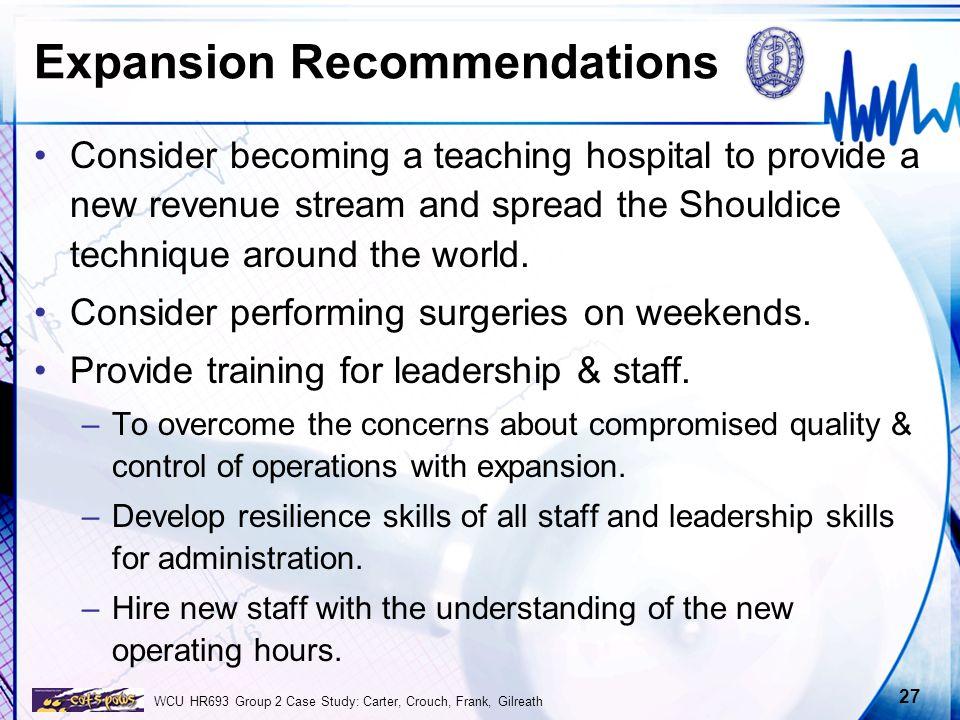 Shouldice Hospital Ltd  Case Study - ppt video online download