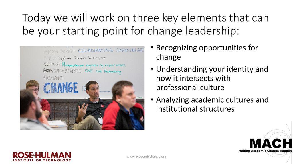 Change Leadership 101: Eva Andrijcic, assistant professor