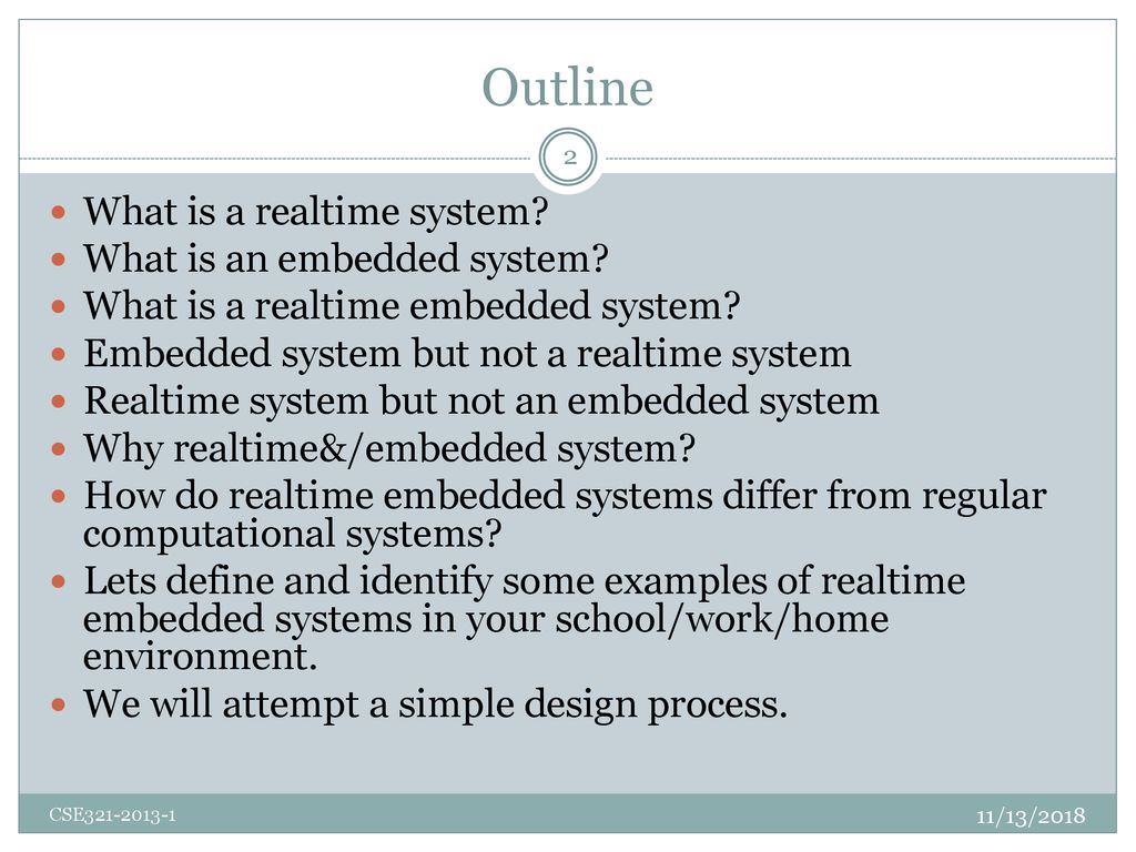 Cse321 Realtime And Embedded Systems Ppt Download
