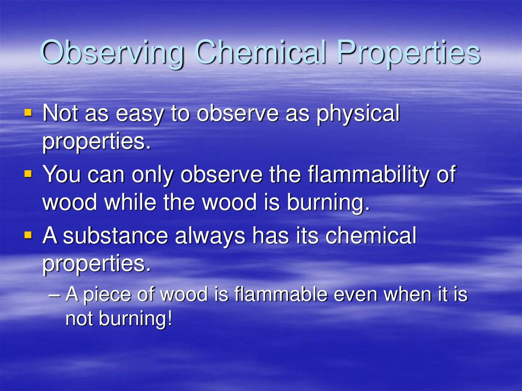 Physical Properties Quiz Ppt Download