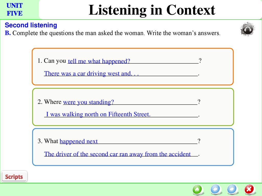 Listening in Context Focus strategies: - ppt download