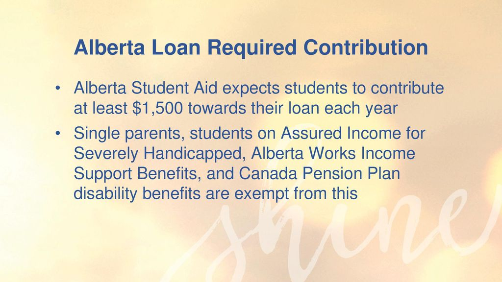Scholarships & Student Finance - ppt download