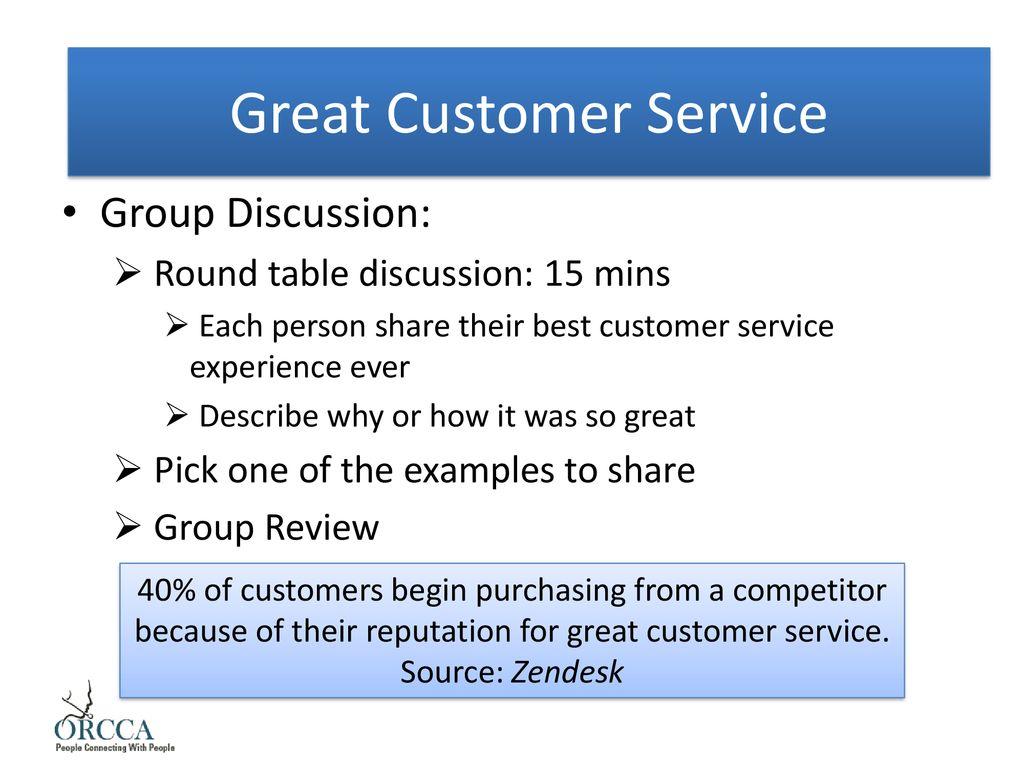 my best customer service experience