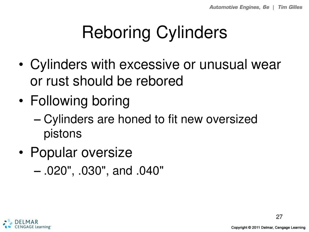 Cylinder Block Inspection and Service - ppt download
