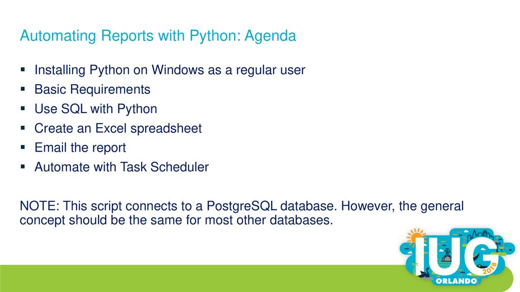 Automating Reports with Python - ppt download