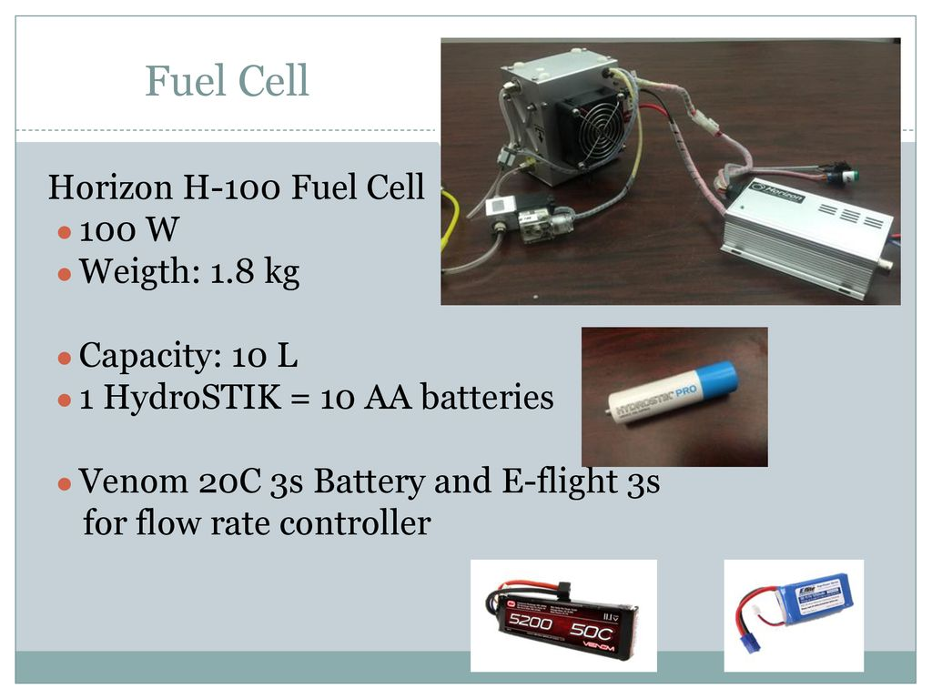 Fuel Cell UAV 2016 PROJECT ADVISORS DR  ZHANG AND DR