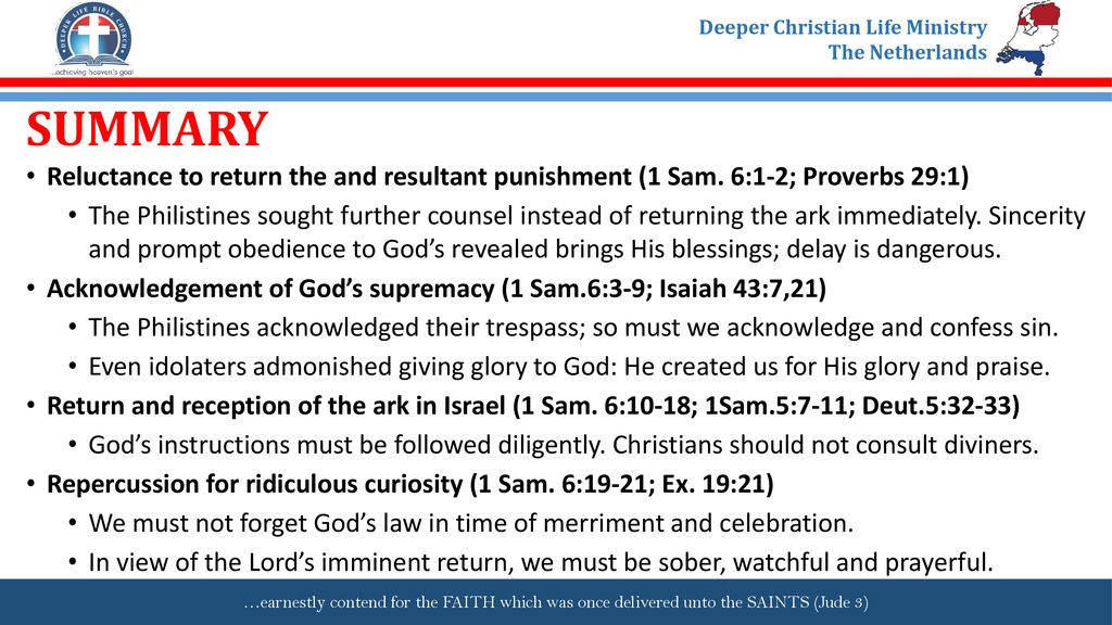 THE ARK RETURNED TO ISRAEL - ppt download