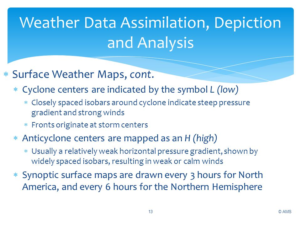 A Steep Or Strong Pressure Gradient Appear On A Weather Map As.Ams Weather Studies Introduction To Atmospheric Science 5th Edition