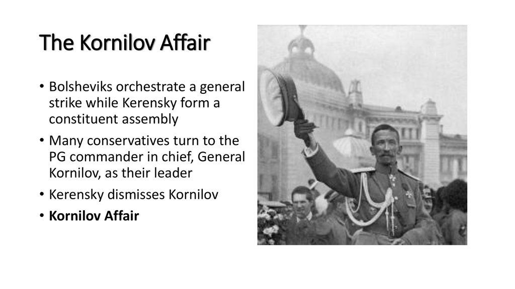 the kornilov affair