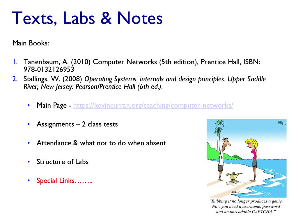 Com320 Computer Networks And Operating Systems Ppt Download