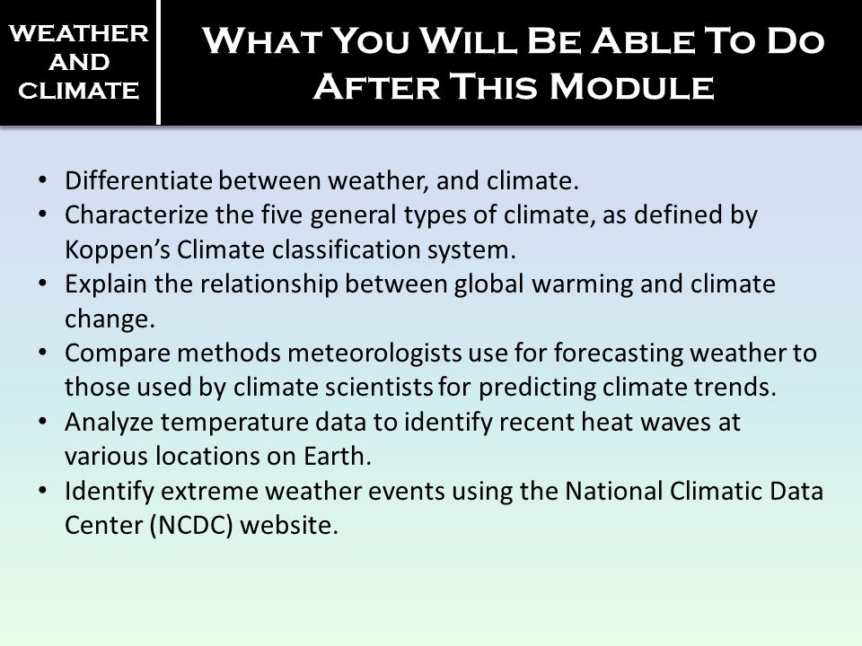 Weather and Climate. - ppt video online download