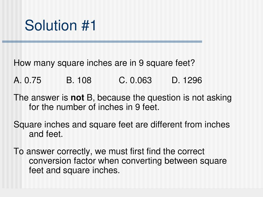Part 3 Module 6 Units of Measure in Geometry - ppt download