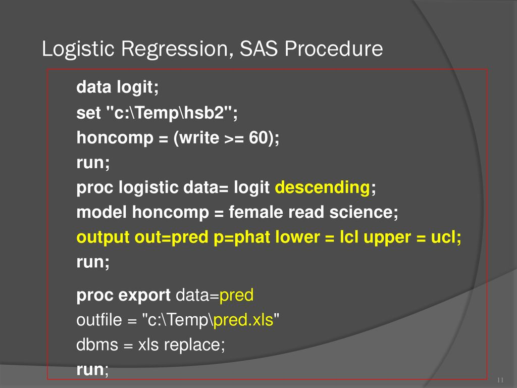 Logistic Regression & Classification - ppt download