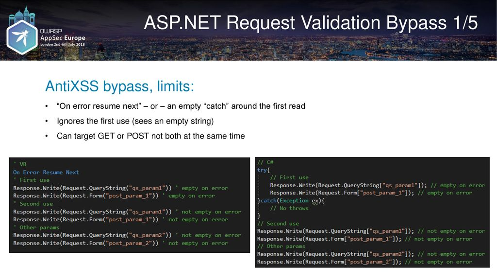 WAF Bypass Techniques Using HTTP Standard and Web Servers' Behaviour