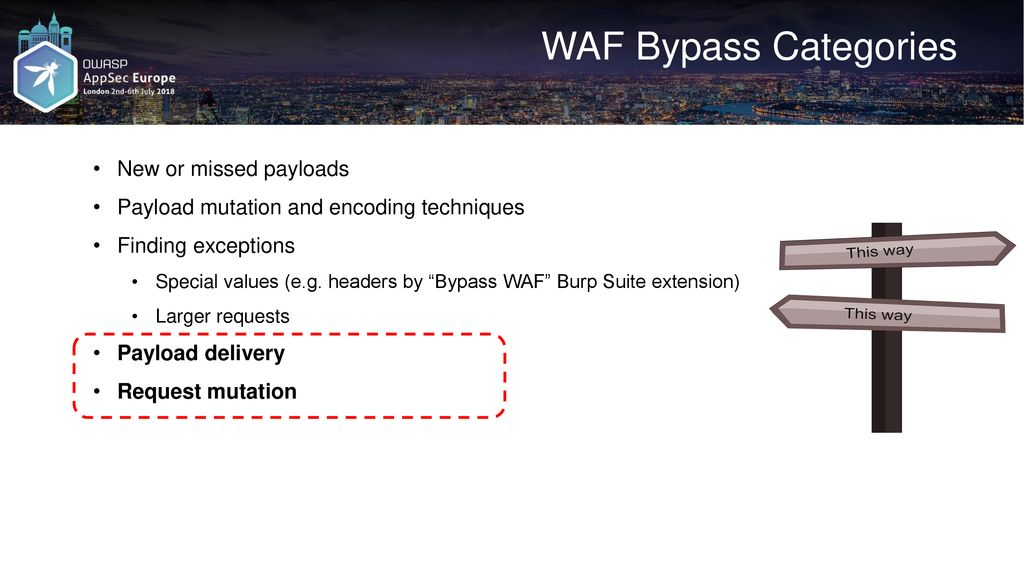 WAF Bypass Techniques Using HTTP Standard and Web Servers