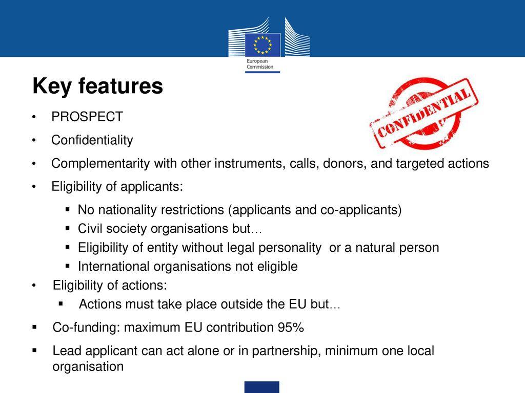 features of international organisation