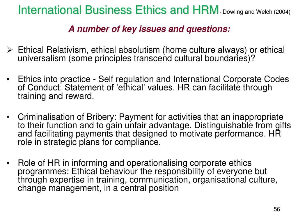 International HRM (IHRM) - ppt download