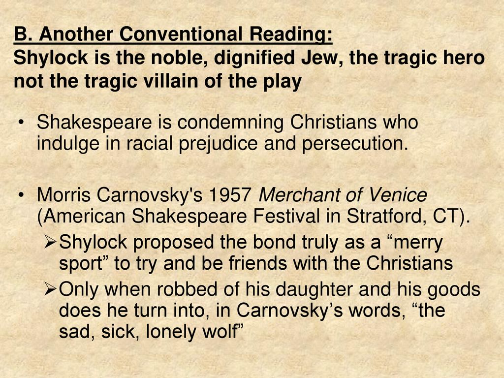 The Merchant of Venice: Staging Gentile, Staging Jew - ppt