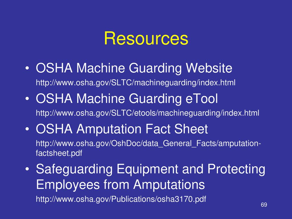Machine Safety Machine Guarding for Warehouse and
