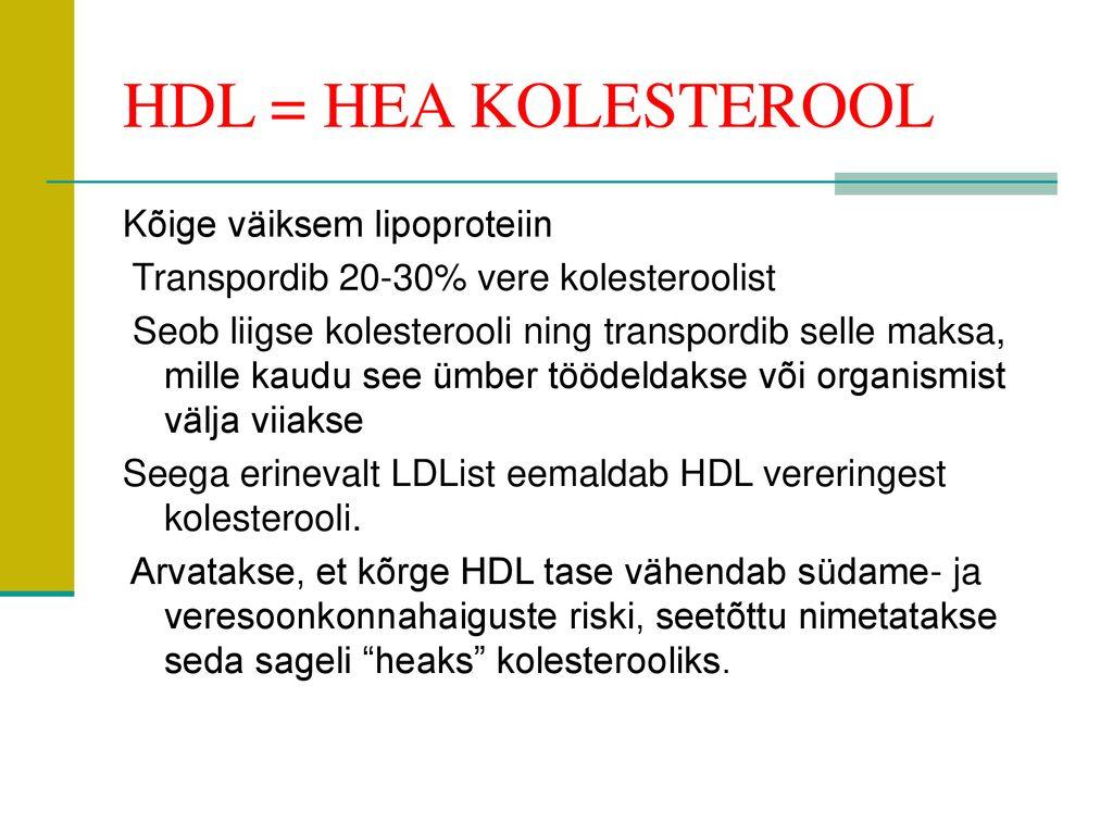 5bbc96a814f MÜÜDID JA TEGELIKKUS KOLESTEROOLIST - ppt download