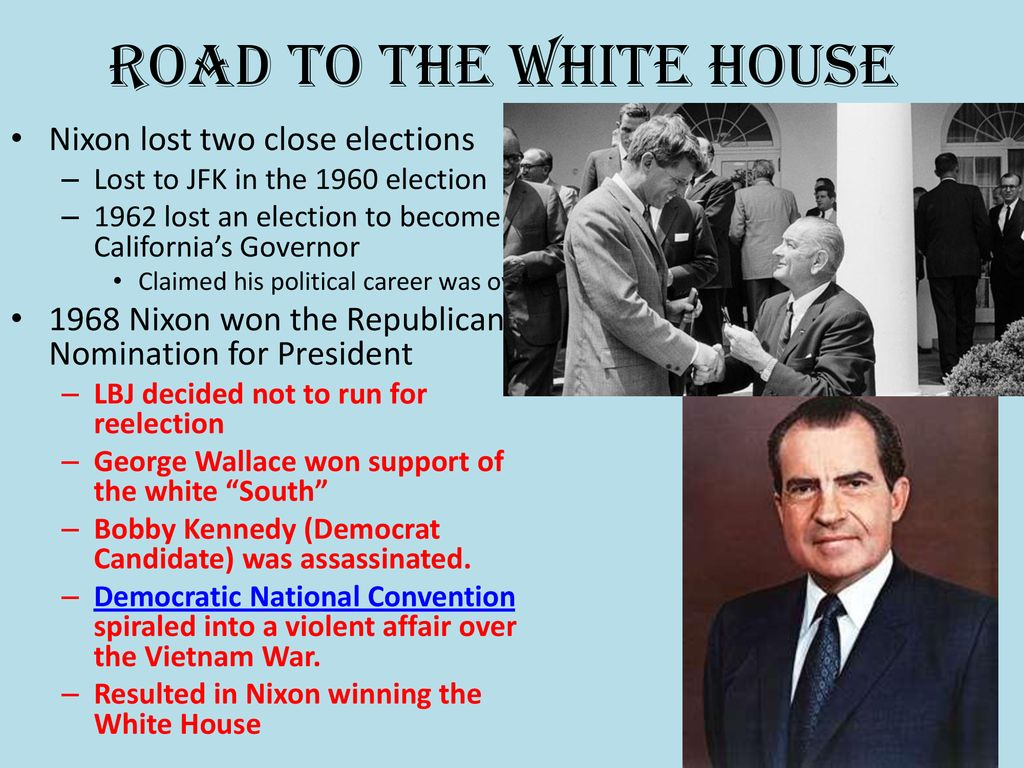 The Rise and Fall of Richard Nixon - ppt download