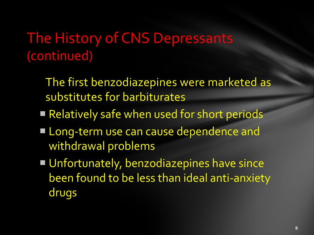 AGENDA Quiz Discussions Chapter 6, depressants - ppt download
