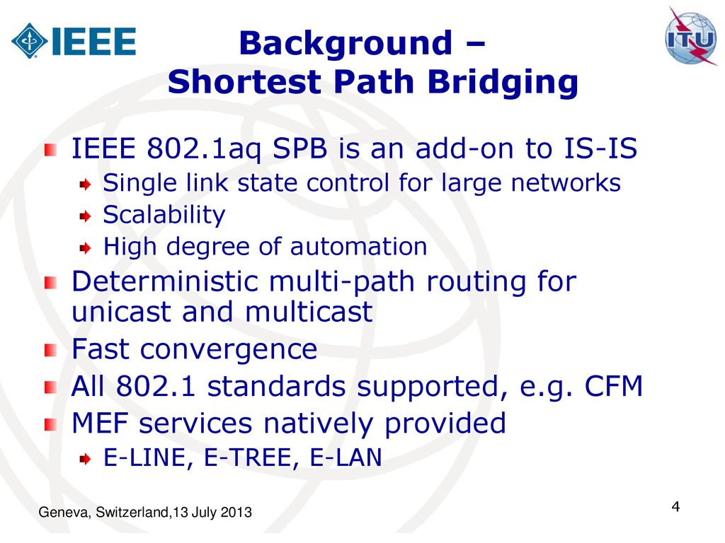 IEEE 802 1Qca Path Control and Reservation - ppt download