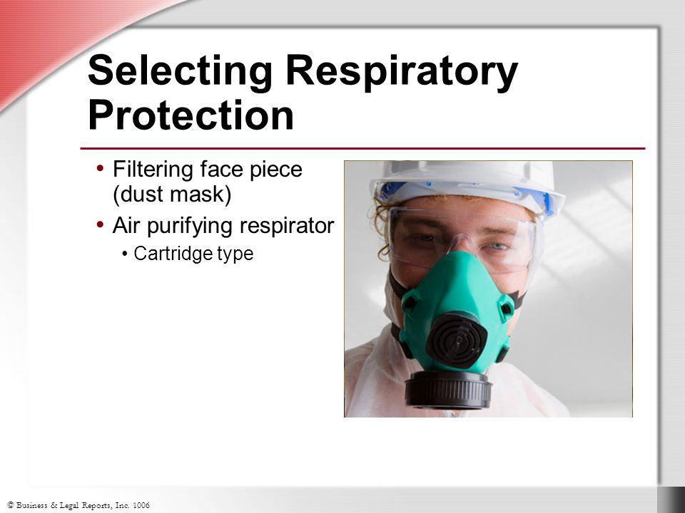 Selecting Respiratory Protection