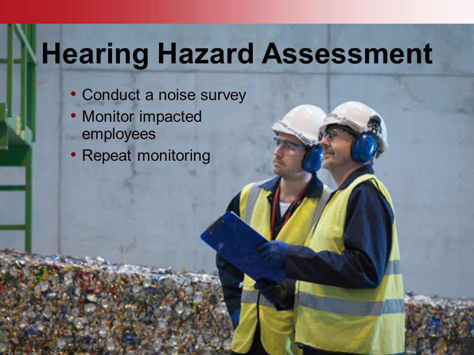 Hearing Hazard Assessment