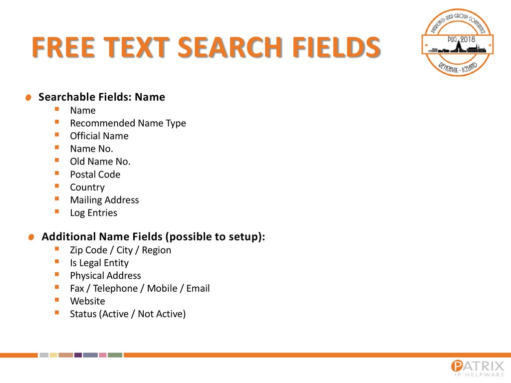 Free Text Search  - ppt download