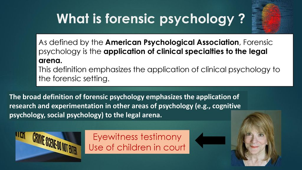 Forensic Psychology A Level Specification Problems In Defining Crime Ppt Download
