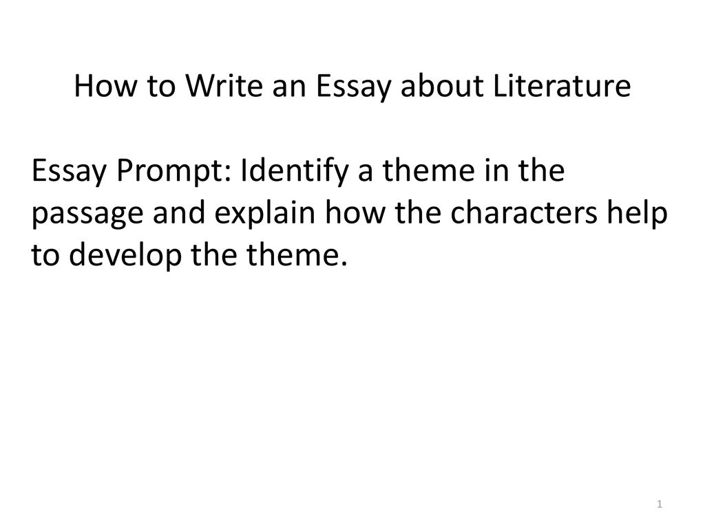 Essays On English Literature How To Write An Essay About Literature Religion And Science Essay also Essay Reflection Paper Examples How To Write An Essay About Literature  Ppt Download Business Essay Sample