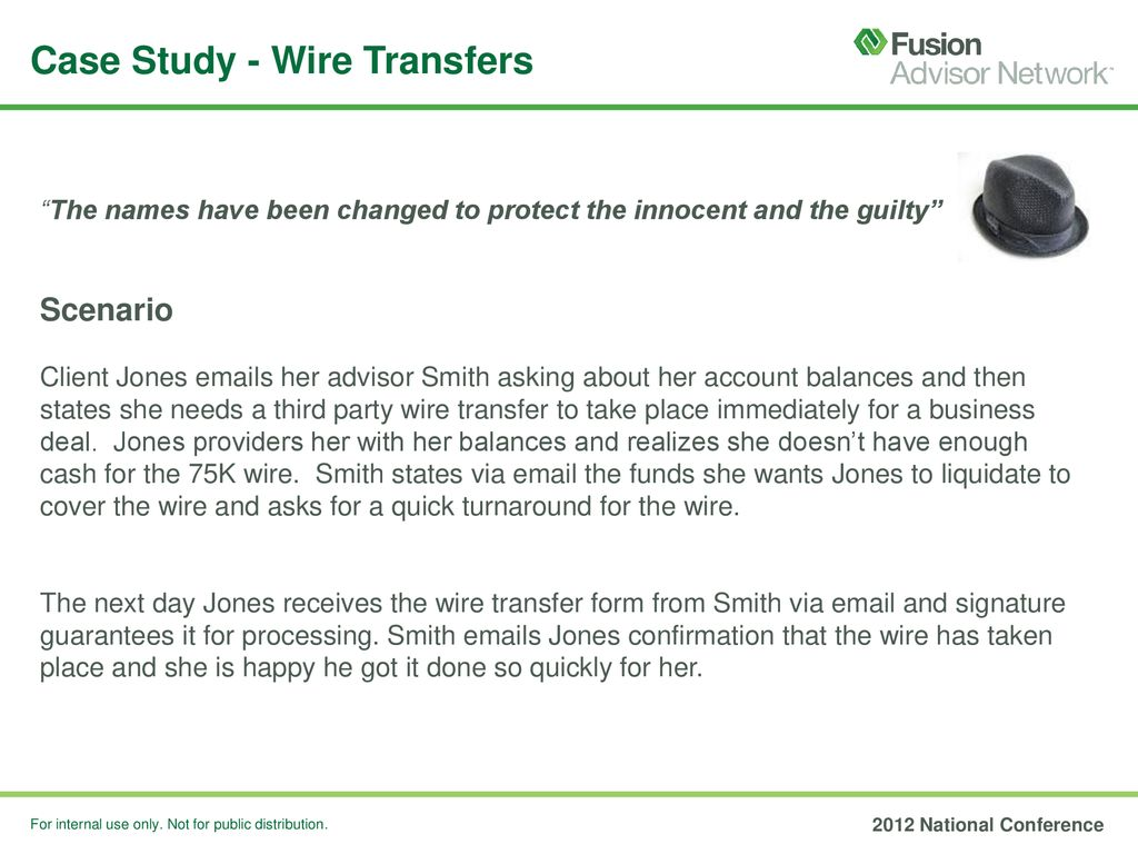 Case Study Wire Transfers