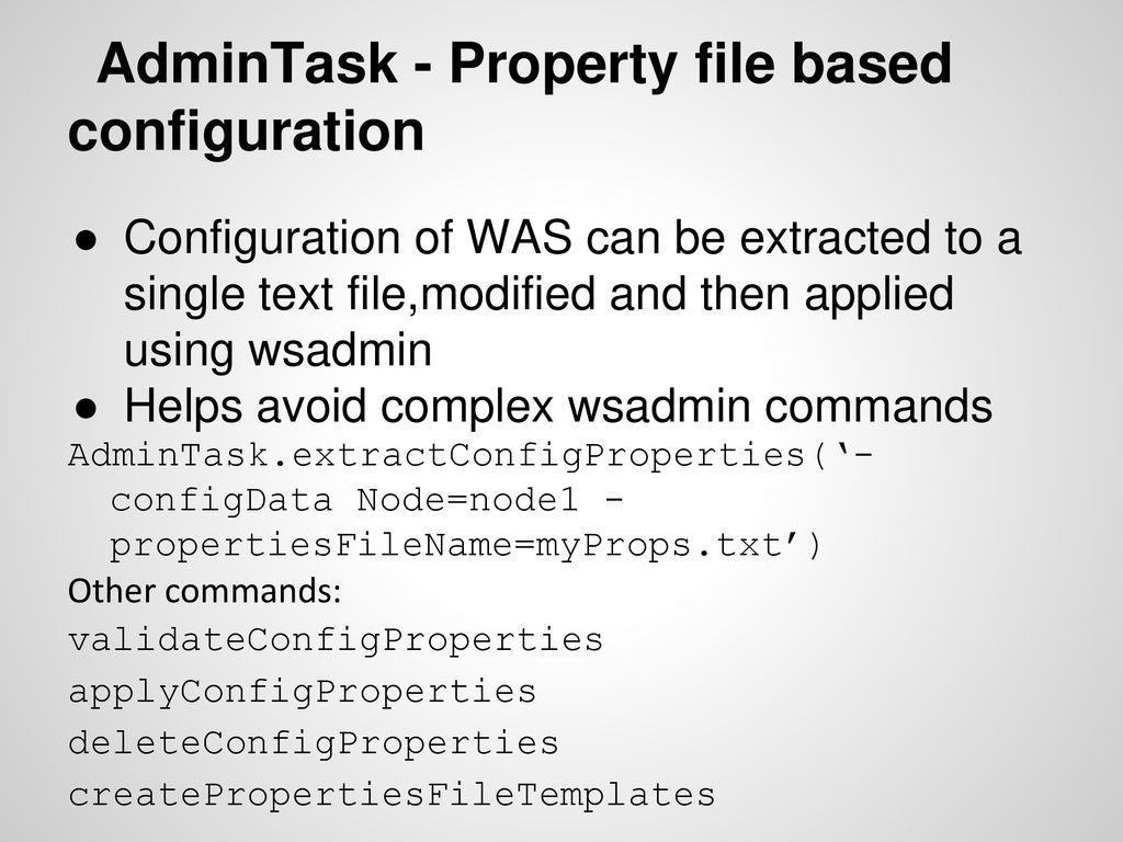 IBM Certified WebSphere Application Server 8 5 Administrator - ppt