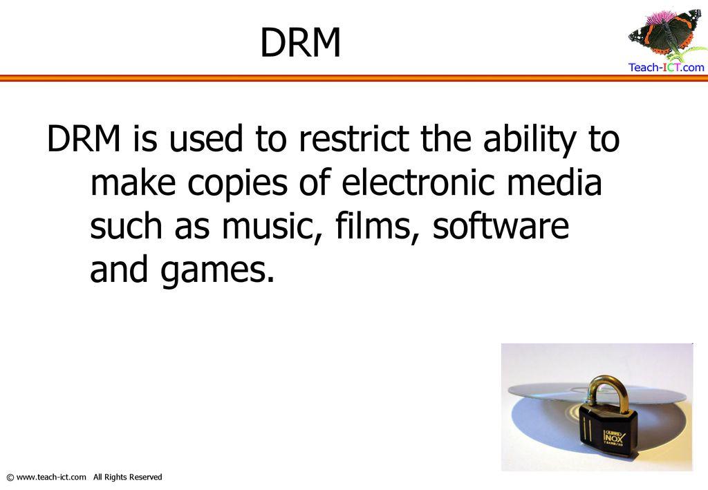 Digital Rights Management (DRM) - ppt download
